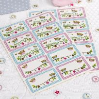 Little Owls Name Stickers (20)